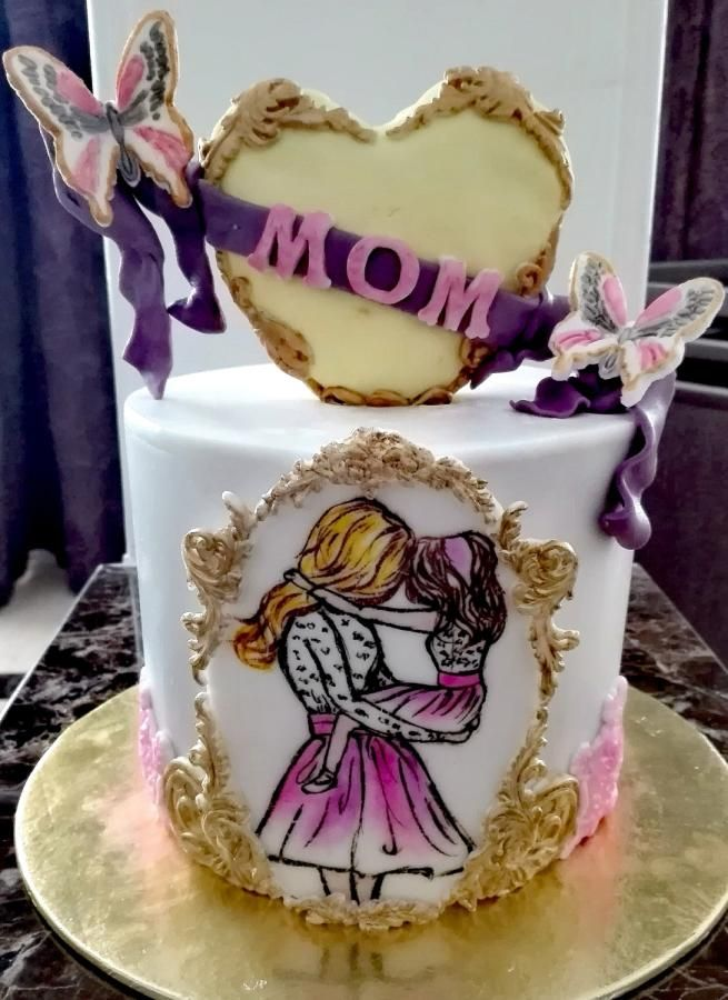 Mothers Love Cake By Passant87 Cakes Cake Decorating Daily