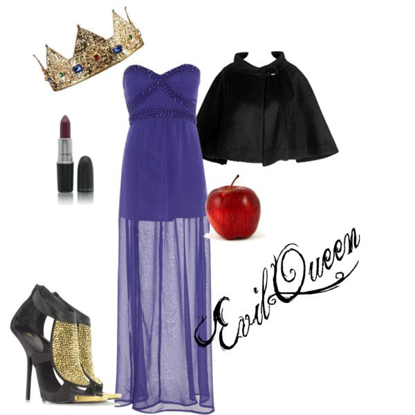 """""""Evil Queen Costume"""" by missmarisam on Polyvore"""