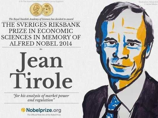 Professor Jean Tirole (astro snake 9Aug1953) Just Won The 2014 Nobel Memorial Prize in Economic Sciences for his analysis of market power and regulation in natural monopolies and oligopoly. http://en.wikipedia.org/wiki/Jean_Tirole