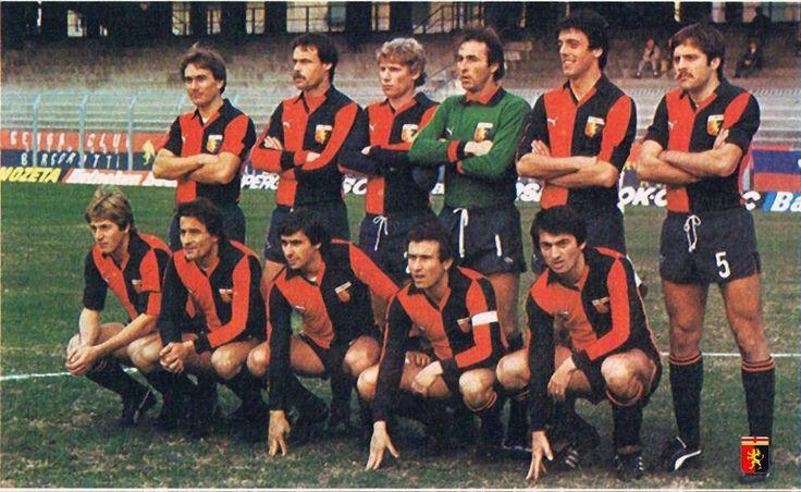 Genoa 1979/80 (in piedi: Ogliari, Busatta,Gorin, Girardi, Berni e Brilli. Accosciati: Odorizzi, Rizzo, Conti, Damiani Luppi)