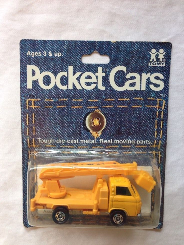 Tomica Tomy Pocket Cars Vintage Die-cast Nissan Caball No. 75-88 Yellow Truck  #Tomica #Nissan