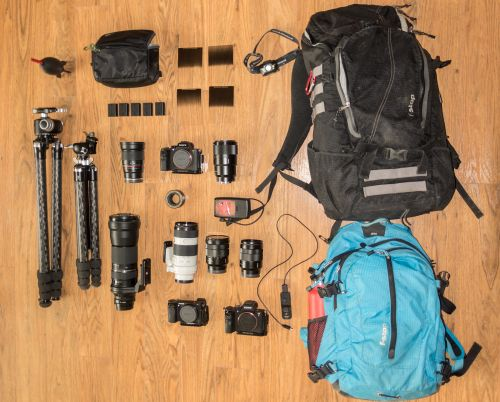 What's In My Bag: Gary Hart For Landscapes