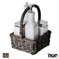 Set de Mesa (5 piezas) - Tienda Online Decoracion - Lampe Berger - Sia Home fashion - Boles de olor - Nur