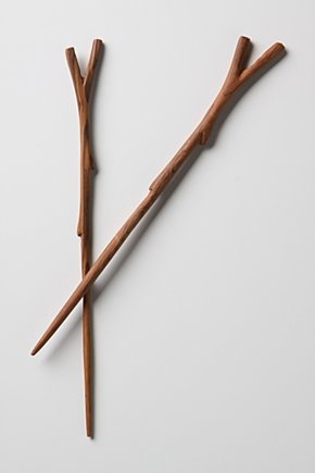 twiggy chopsticks. All I can see are some cool looking wizarding wands.