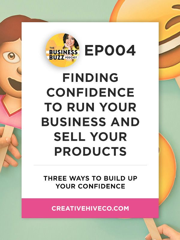 Finding confidence to run your business and sell your products // Mei Pak - Creative Hive