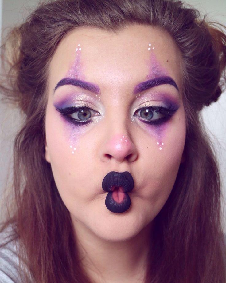 Glam clown makeup! #nyx #makeup #glam | Makeup (IG: @livmodern ...