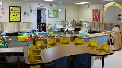 Howell Infant Daycare Room