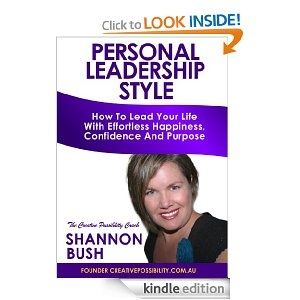 Grab my new best selling book as an e-book from Amazon now! just .99c for a short time longer - discover your personal leadership style!