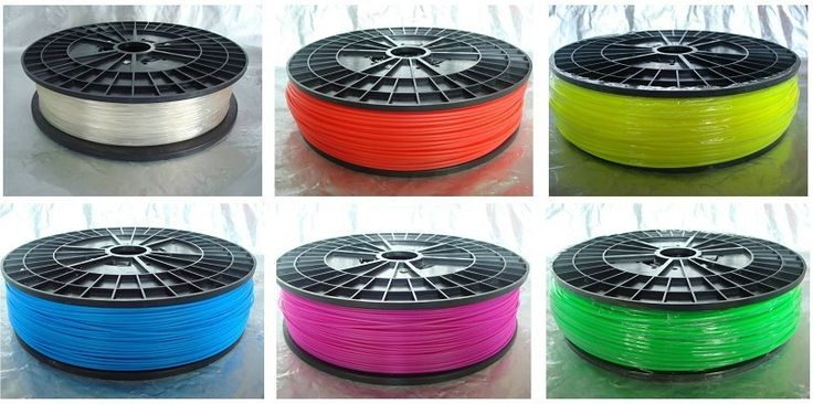 3D printer ABS/PLA filament with spool,1 kg/3mm Transparent  for MakerBot/RepRap/UP.environmental-friendly! $37.00