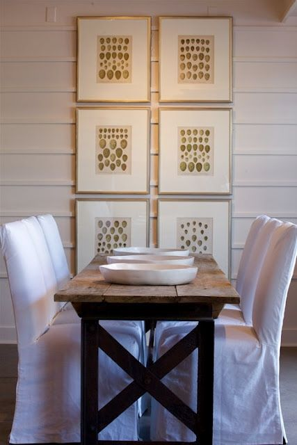 white chairs and wood table