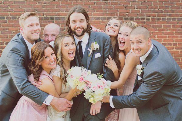 bridal party portraits // via ruffledblog.com