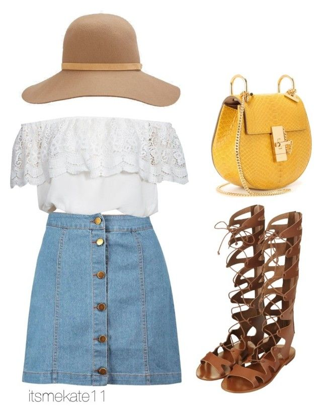 """""""70's to 2015"""" by itsmekate11 on Polyvore featuring Boohoo, Glamorous, Topshop, rag & bone and Chloé"""