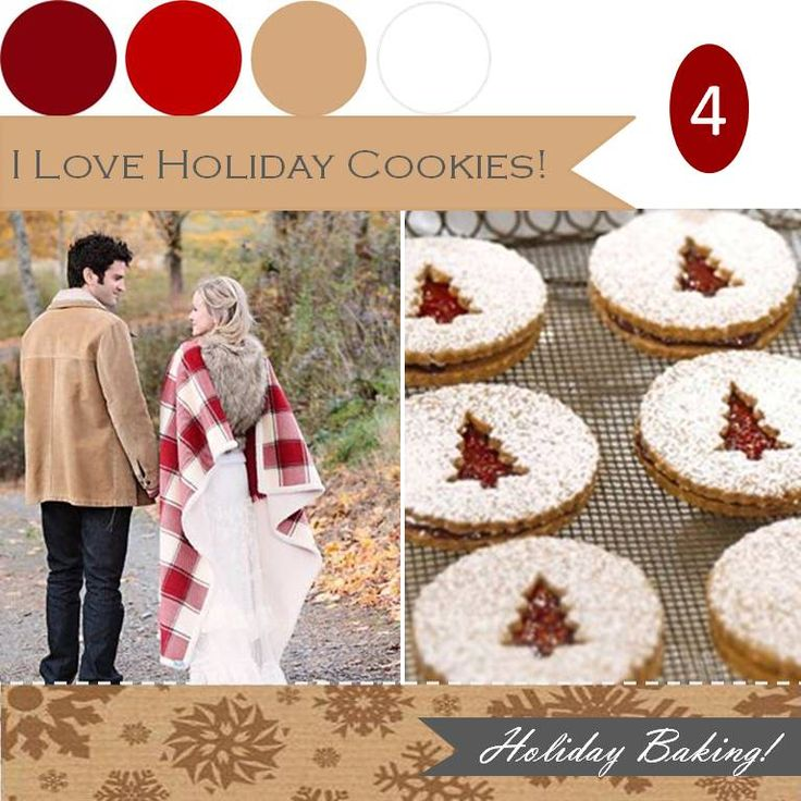 I love holiday cookies! http://www.theperfectpalette.com/2011/12/when-it-comes-to-holidays-i-think-its.html