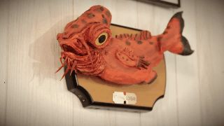 """Star Wars-themed Billy Bass with Admiral Ackbar's head shouts """"It's a trap"""""""