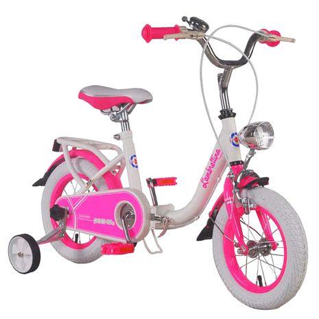 Vehicule pentru copii :: Biciclete si accesorii :: Biciclete :: Bicicleta copii pliabila Lambrettina pink 12 ATK Bikes