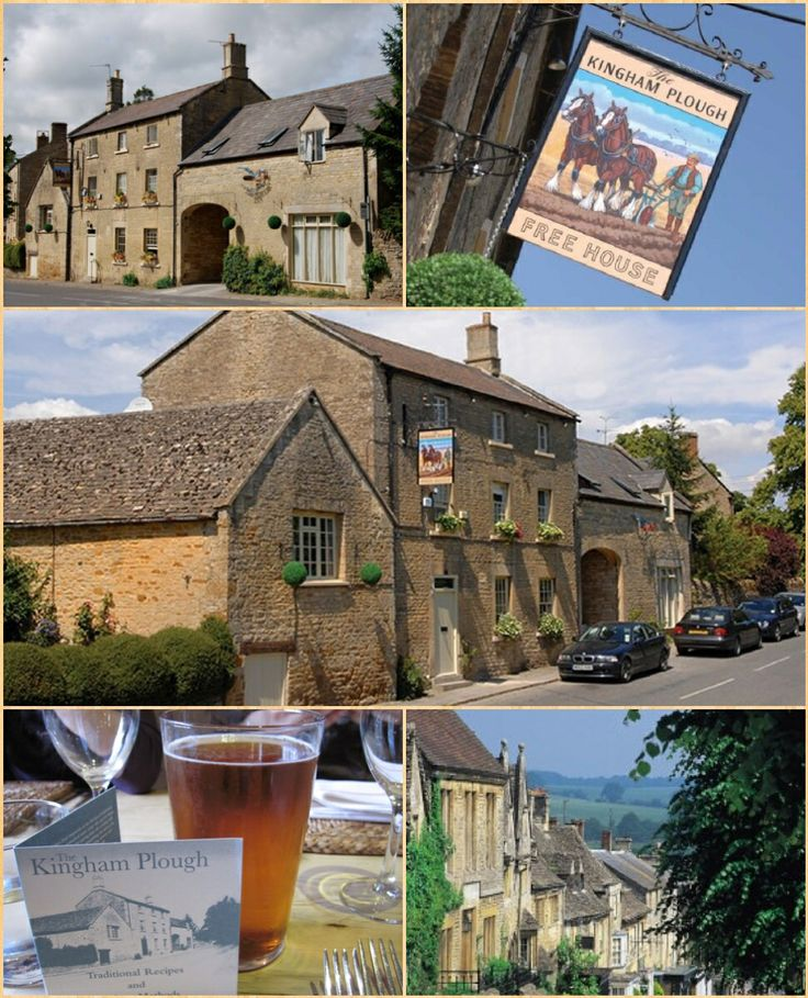 The Kingham Plough, Kingham, Cotswolds England.
