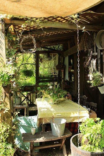 今日のターシャの庭 |quilty-quiltのアイ・ラブ・キルト♡