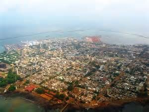 Conakry, capital of Guinea