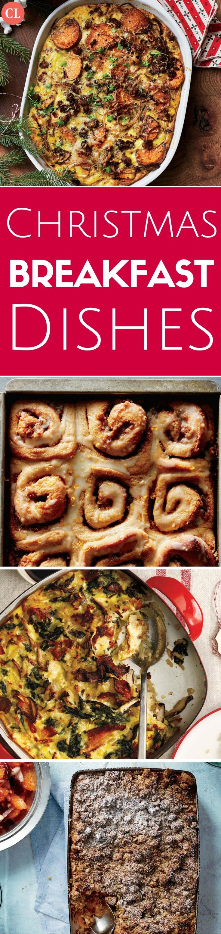 The holidays promise some of the happiest, coziest family breakfasts of the year. Make it hassle-free as well with sweet and savory dishes you can make in advance. From gooey cinnamon rolls and a cheesy breakfast strata to creamy casseroles and a light spinach quiche, we've cooked up dishes that will delight your senses and your family. These easy, make-ahead casseroles and breakfast rolls are a great joy to the cook and deliver comfort to the table.   Cooking Light