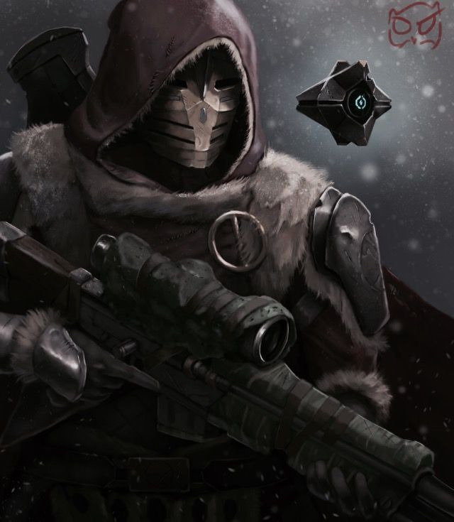 Rise of Iron  Hunter and his Ghost