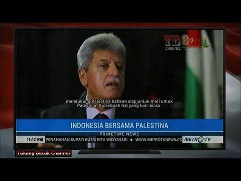 Dubes Palestina Heran, Orang Indonesia Rela Berkorban Siap Jihad