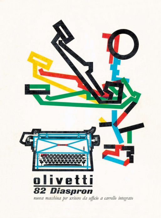 Olivetti Typewriter Poster