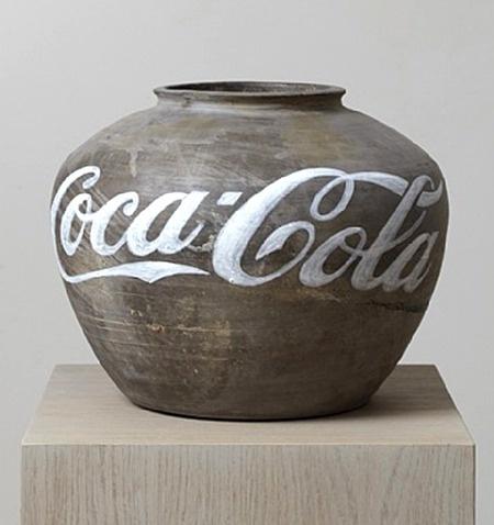 Vessel by Ai Wei Wei...  Ah....Coca Cola....