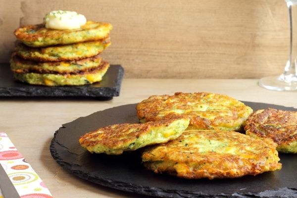 Zucchini Fritters - Clever Guts