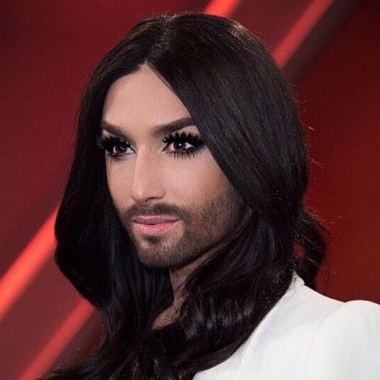 "Make Up Flashback ""Menschen bei Maischberger"" TV Talk  Teint @urbandecaycosmetics  Eyes @tomford  Lashes @claireseurope  Lips @dior  #conchitawurst #dior #tomford #tomfordbeauty #lashes #makeupartist #tvshow #glow #flawless #skin #beauty #perfection #ombre #ombrebrows #wig #refugeeswelcome #theunstoppables #weareunstoppable #instabeauty #instaeyes #instadaily #stylist #style #styling #contouring #sexy #barelips"