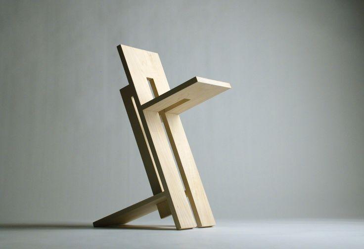 Four-Board Stool by Franklin Gaw at Coroflot.com