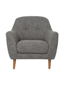 Your Home And Garden Alora Chair, Grey product photo
