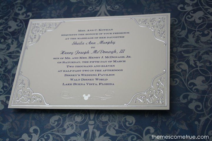 Best 25 Disney Wedding Invitations Ideas On Pinterest