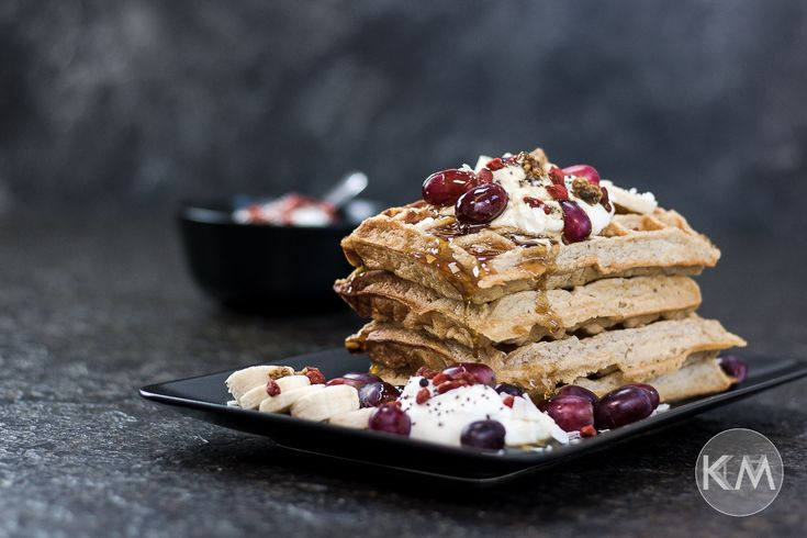 Gesunde Waffeln mit Superfood-Quark - Life Is Full Of Goodies