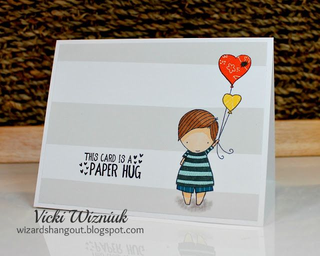 Take a look-see at this adorable card...                  I love this stamp set.     It is called True Love (D1711).     It is this years...
