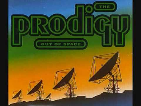Keith Flint is bonkers. This was one of my first vinyls and in all honesty it really needs to be thrown down on a turntable, right. now. #LOVE  {Prodigy - Out Of Space}