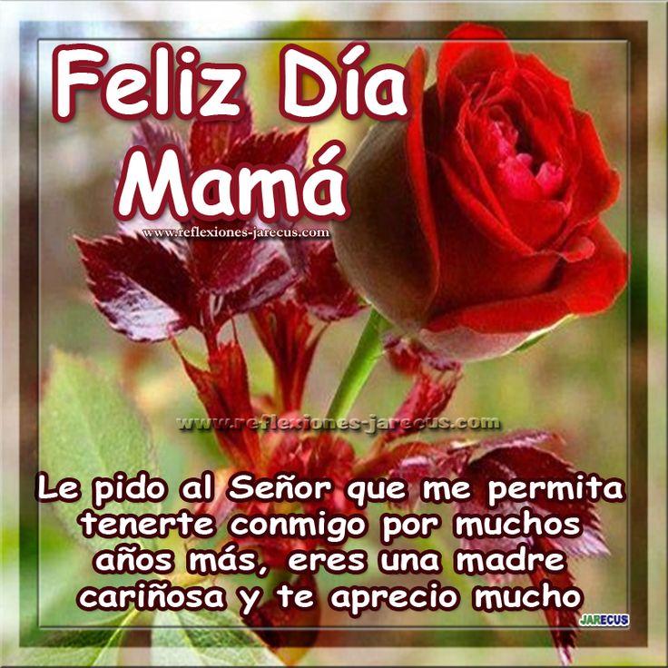 Feliz día de la madre.