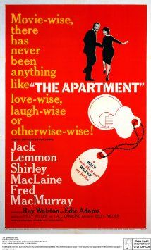 "Billy Wilder's ""The Apartment"", the movie Joan suggests Roger take her to see (while comparing herself to the Shirley MacLaine character) in Season 1's ""Long Weekend""."