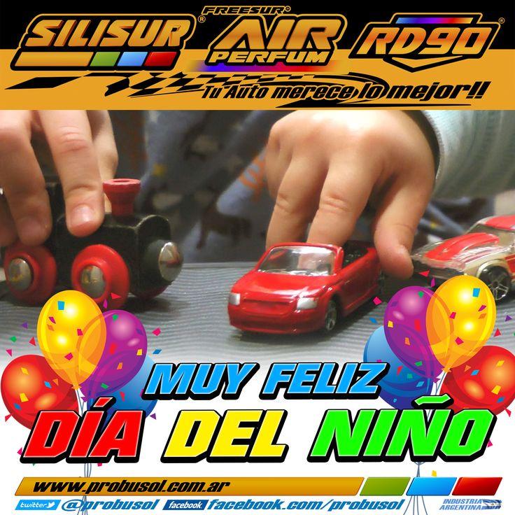 #FelizDiaDelNino les deseamos a todos SILISUR-AIR PERFUM-RD90 Tu Auto merece lo mejor!! #BuenDomingo
