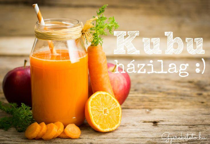 Kubu - készítsd el a saját konyhádban! Fél óra és egy nagy adag gyümölcslé van a hűtőben!