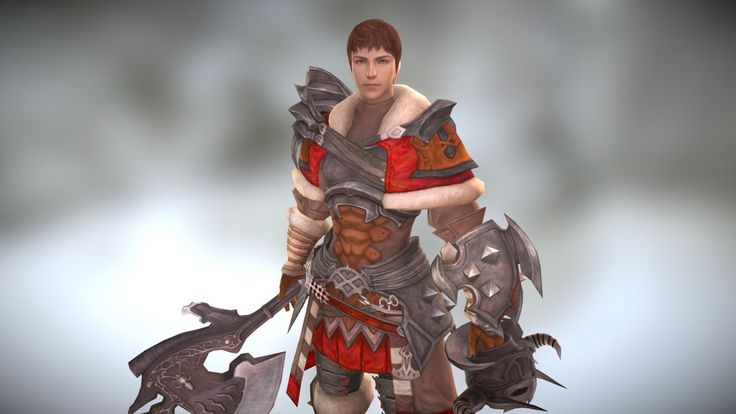 ffxiv Warrior by chek
