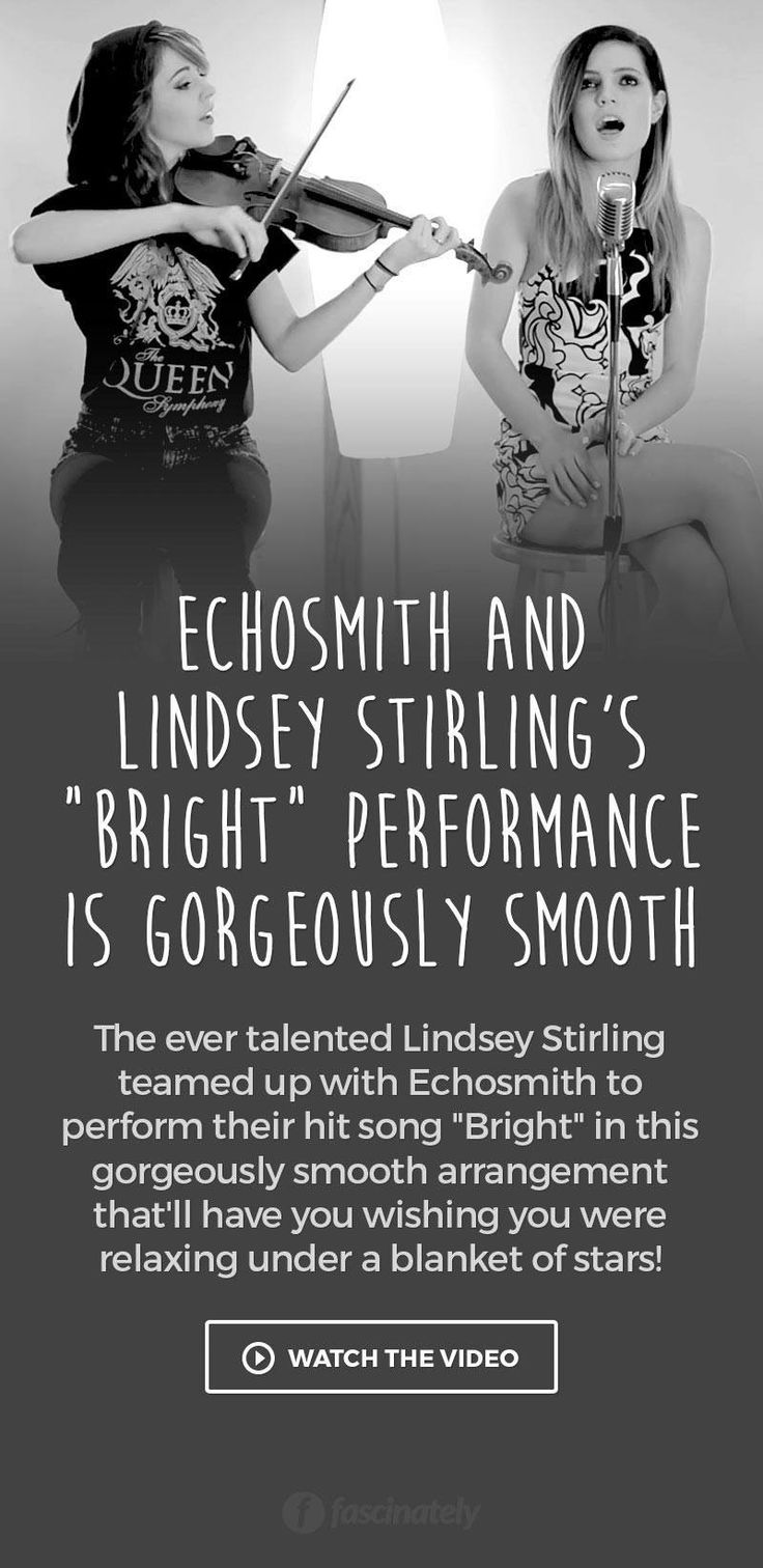 """Echosmith and Lindsey Stirling's """"Bright"""" Performance is Gorgeously Smooth"""