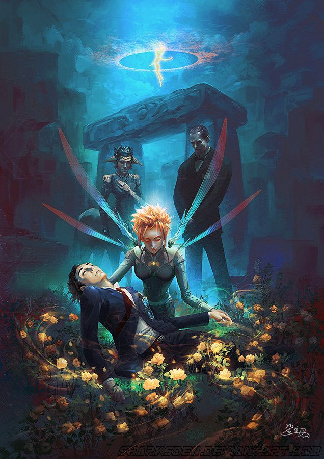 Last Guardian (Artemis Fowl) Yeah, those noises are just me sobbing. Don't worry about it.