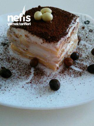 Pişirmeden,10dk da Hafif Pasta