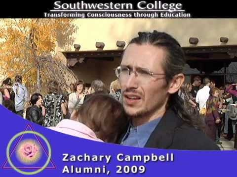 Zachary Campbell, Graduate of Southwestern College, discusses his experience at Southwestern College, Santa Fe...