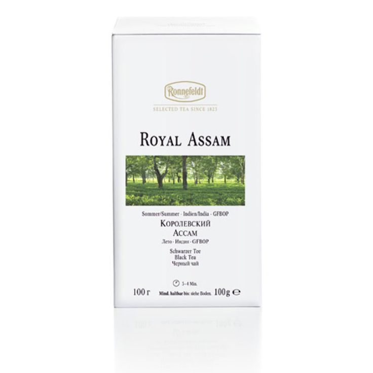 White Collection Royal Assam | buy online tea | Teeversand