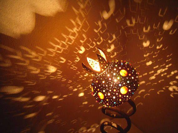 100% HANDMADE Gourd lamps beads light Ottoman Turkish mosaic