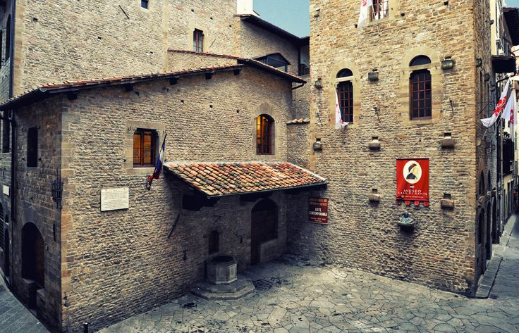 Dante's house in Florence.