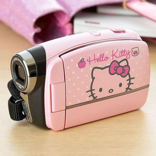 Hello Kitty video camera ~Hello Kitty Addicted (=^.^=) ♥~ #HelloKitty