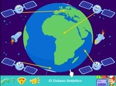 Continentes y océanos  del mundo Tienda Online de Pipo