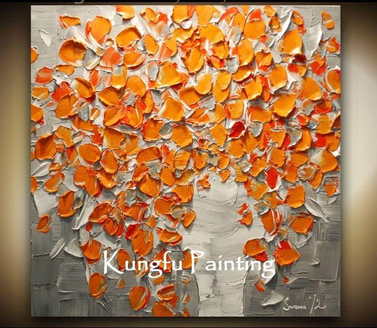 100% el boya modern sanat bıçak dokulu yağlıboya tuval palet bıçak sanat txt042(China (Mainland))
